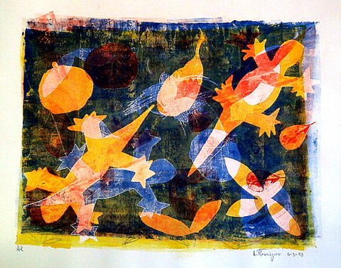 4Lizards6-3-1998Monoprint19x24in.jpg